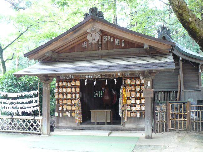 安曇野市:穂高神社・絵馬殿